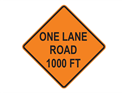 Picture of One Lane Road 1000 FT
