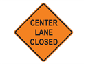 Picture of Center Lane Closed