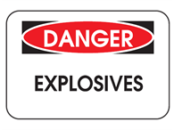 Picture of Danger Explosives