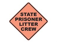 Picture of State Prisoner Litter Crew Text