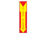 Picture of Fire Alarm Arrow Down