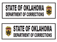 Picture of State Of Oklahoma Department Of Corrections 28 X 8 1/8