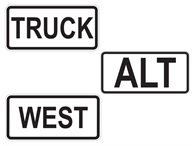 Picture for category Route Markers