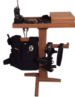 Picture of Law Enforcement Equipment Stand