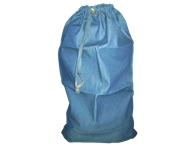 Picture of Blue Denim Laundry Bag