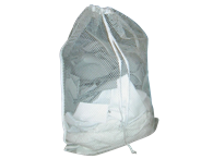 Picture of White Mesh Laundry Bag