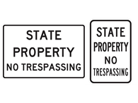 Picture of STATE PROPERTY NO TRESPASSING