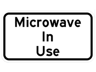 Picture of Microwave In Use