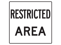 Picture of RESTRICTED AREA