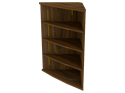 Picture of Miller Radius Corner Bookcase