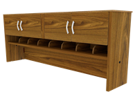Picture of Miller Executive Desk Hutch