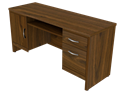 Picture of Miller Executive Kneehole Credenza