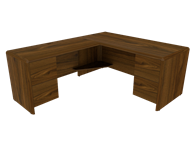 Picture of Eclipse L Shaped Workstation