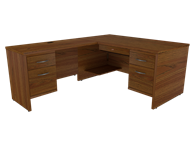 Picture of Miller Executive L Shaped Desk