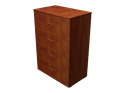 """Picture of CLEARANCE: 36"""" Free Standing Lateral File 4 Drawer-Legal Wild Cherry"""