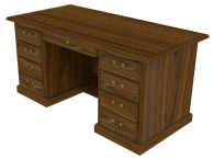 Picture of Heritage Manager's Desk