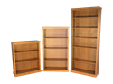"""Picture of CLEARANCE: HTG Bookcase 42"""" Height Mahogany"""