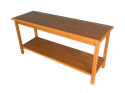 """Picture of CLEARANCE: Heritage Sofa Table 20"""" W x 72"""" L x 28"""" H, Walnut"""