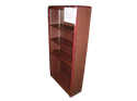 Picture of CLEARANCE: Eclipse 67H Bookcase Mahogany