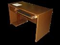 Picture of CLEARANCE: STM Comp C/S L Ped w/CPU Shelf Slideout KBD Walnut