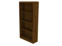 Picture of CLEARANCE: Eclipse 42H Bookcase Walnut