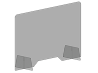 Picture of Work Station Shield