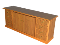 Picture of Heritage Director's Credenza