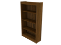 Picture of CLEARANCE: Statesman 60H Bookcase  Walnut
