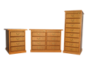 Picture of CLEARANCE: HTG Lat File Cabinet 3 Drawer Walnut